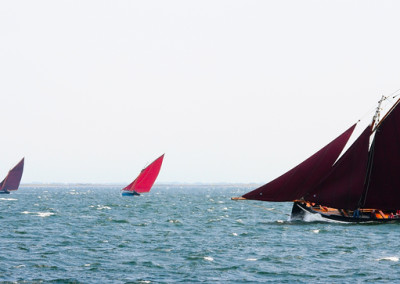 Galway hookers at Ocean race