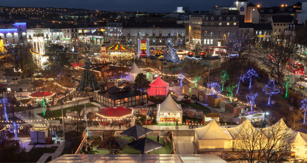 Don't miss the Christmas Market!
