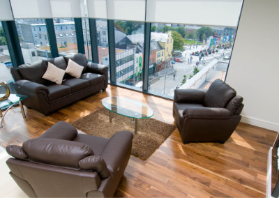 Galway Citypoint Holiday Apartments.Photograph by David Ruffles